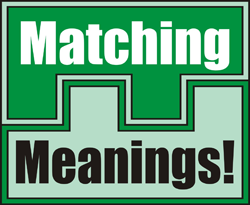 Matching Meanings game